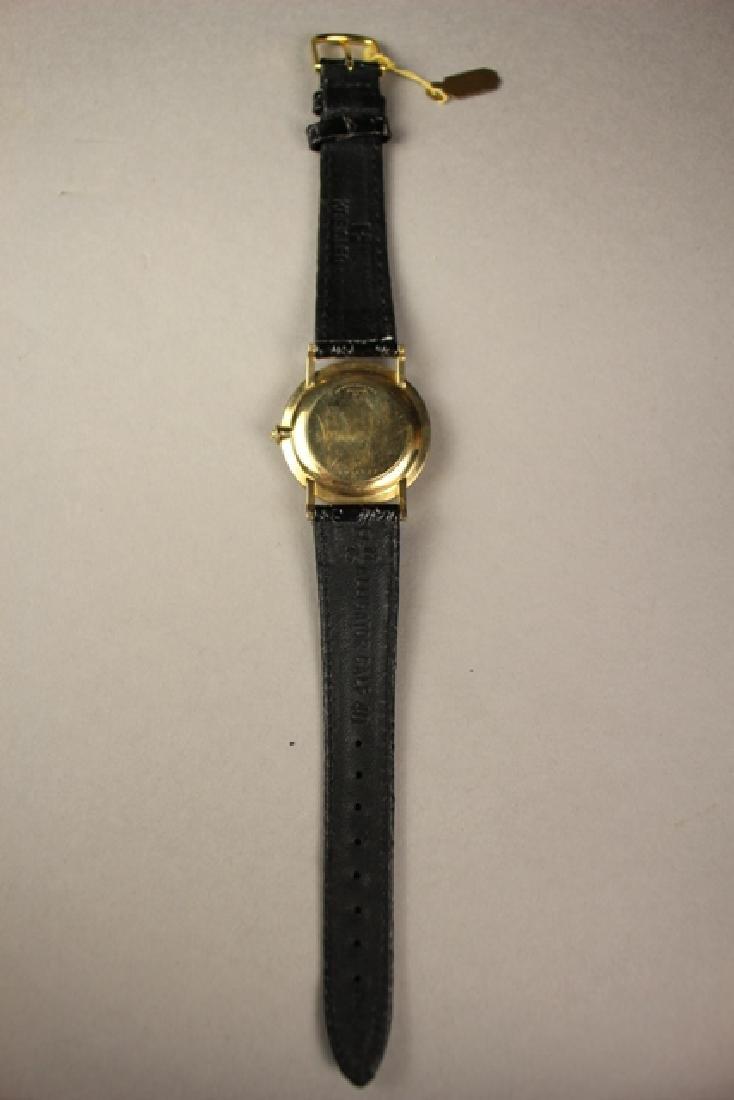 Bulova Men's Wrist Watch with Alligator Skin Strap - 3