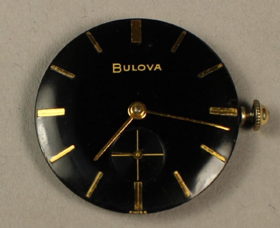 Bulova Men's Wrist Watch with Alligator Skin Strap - 5