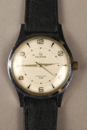 Helbros Invincible Wrist Watch Men's #1054