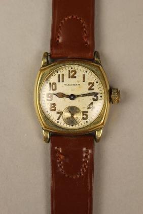Waltham Vintage Men's Wrist Watch Gold Filled