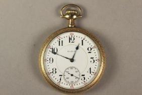 B.W. Raymond Elgin Railroad Pocket Watch
