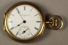 Elgin National Watch Co. Gold Filled Pocket Watch