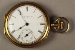 Elgin National Watch Co Gold Filled Pocket Watch