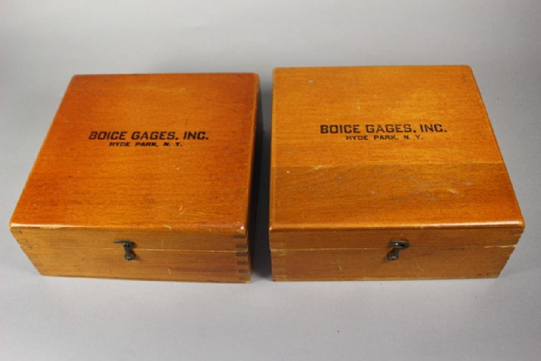 Boice Gages Inc. Collet Sets (2) in Original Boxes - 4