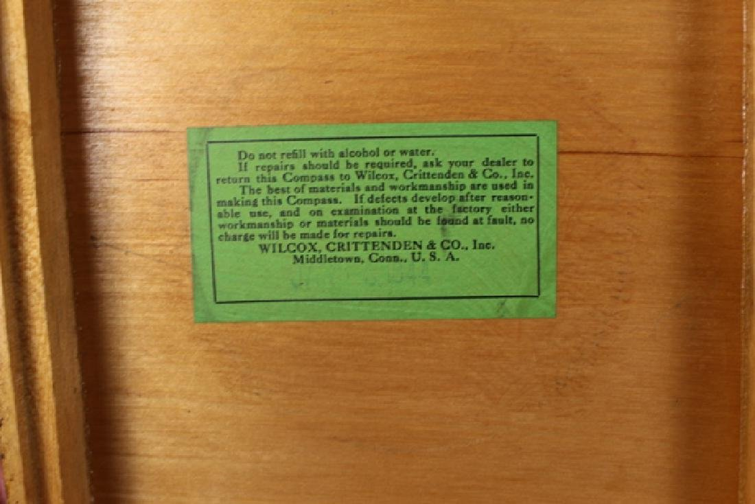 Wilcox, Crittenden & Co. Compass in Original Box - 4