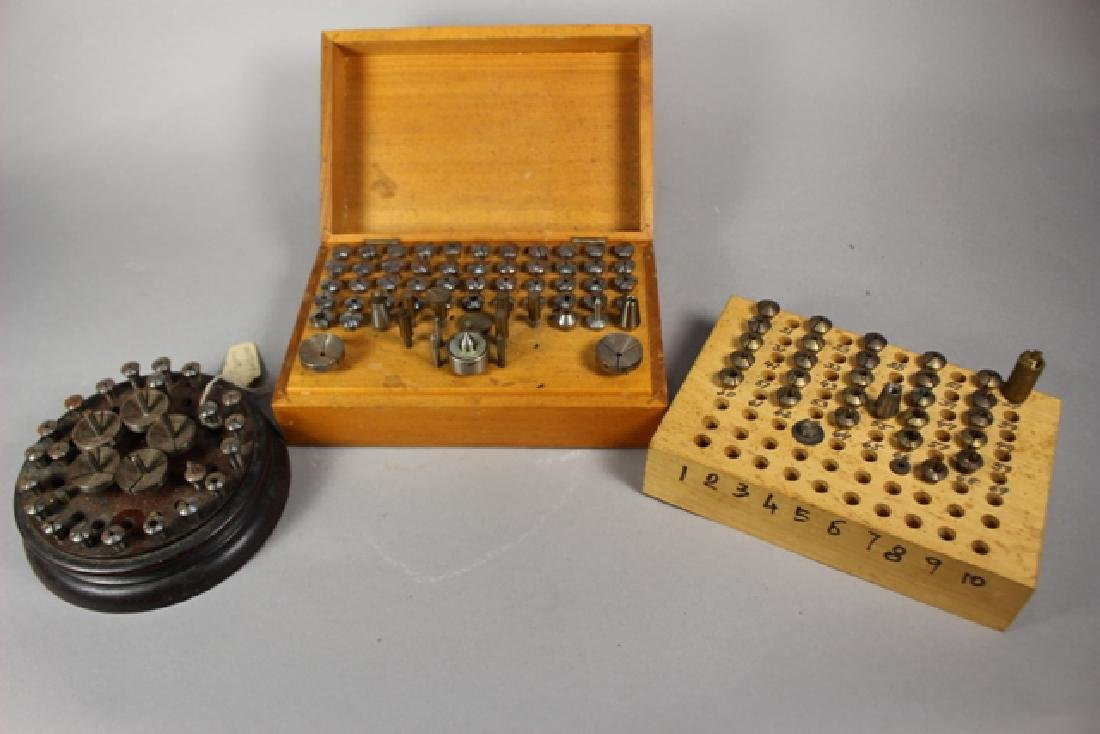 Boley, Wittcomb & Home Constructed Collet Sets