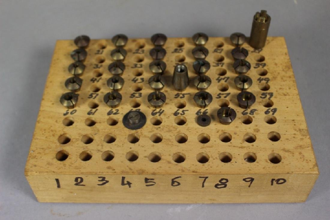 Boley, Wittcomb & Home Constructed Collet Sets - 5