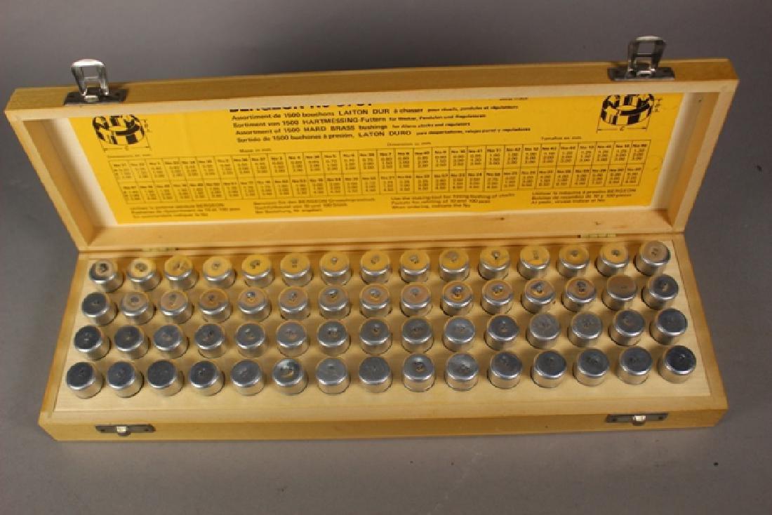 Bergeon No. 5701 Assorted 1500 Hard Brass Bushings - 5