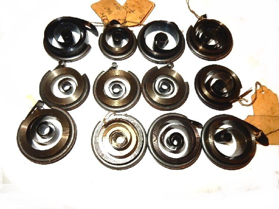 Collection of 35 Assorted Clock Mainsprings - 3
