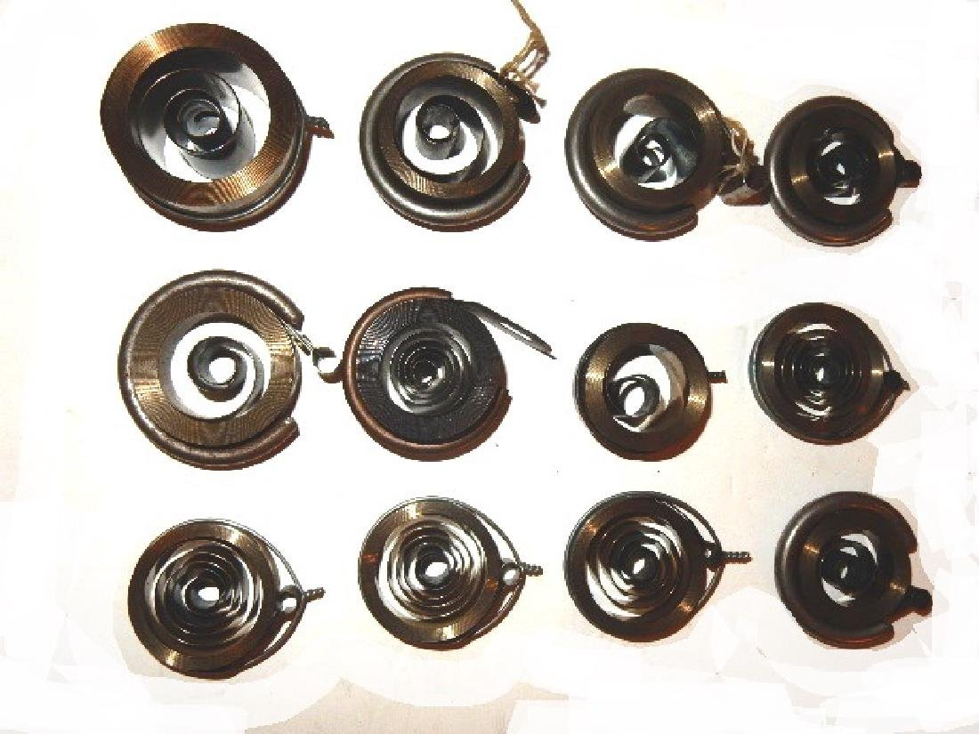 Collection of 35 Assorted Clock Mainsprings - 4