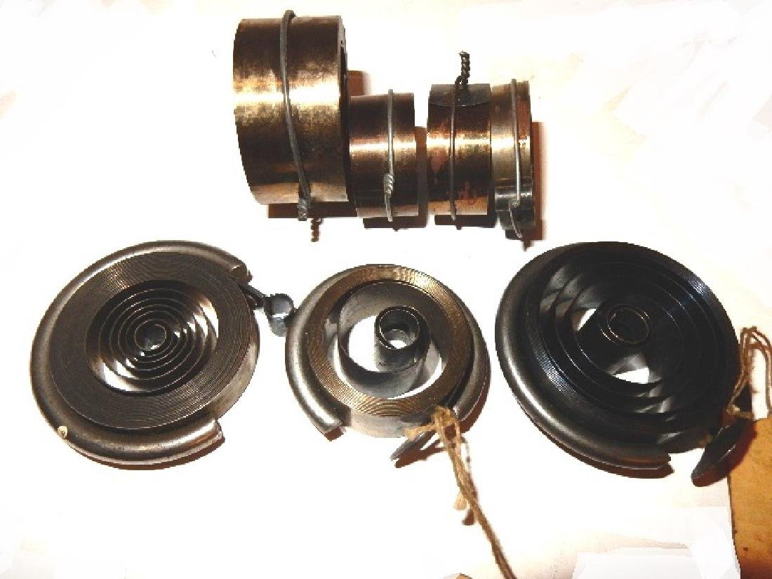 Collection of 35 Assorted Clock Mainsprings - 6