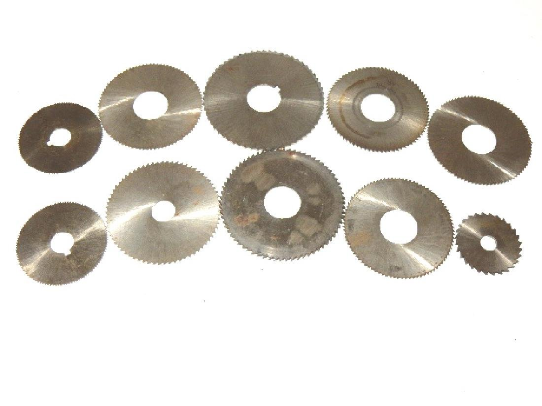 Two Sets of FAVORITE Round Bottom Pinion Cutters - 2
