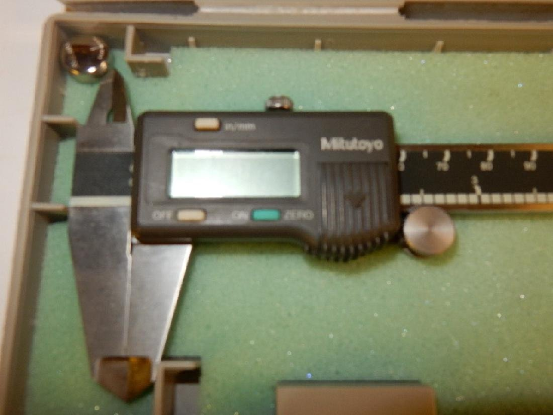 Group of Six Calipers and Two Micrometers - 3