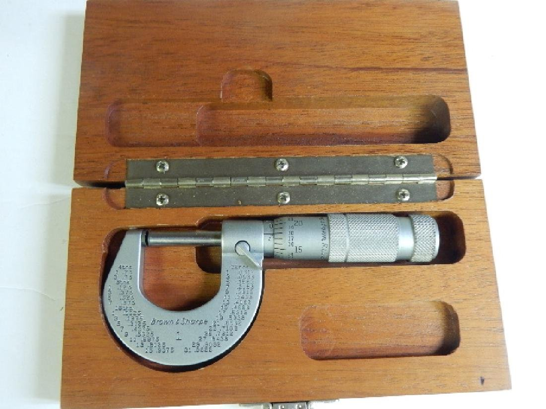 Group of Six Calipers and Two Micrometers - 5