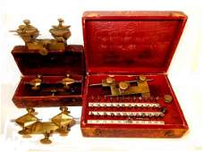 Four Watchmaker Brass Depthing Jewelry Repair Tools