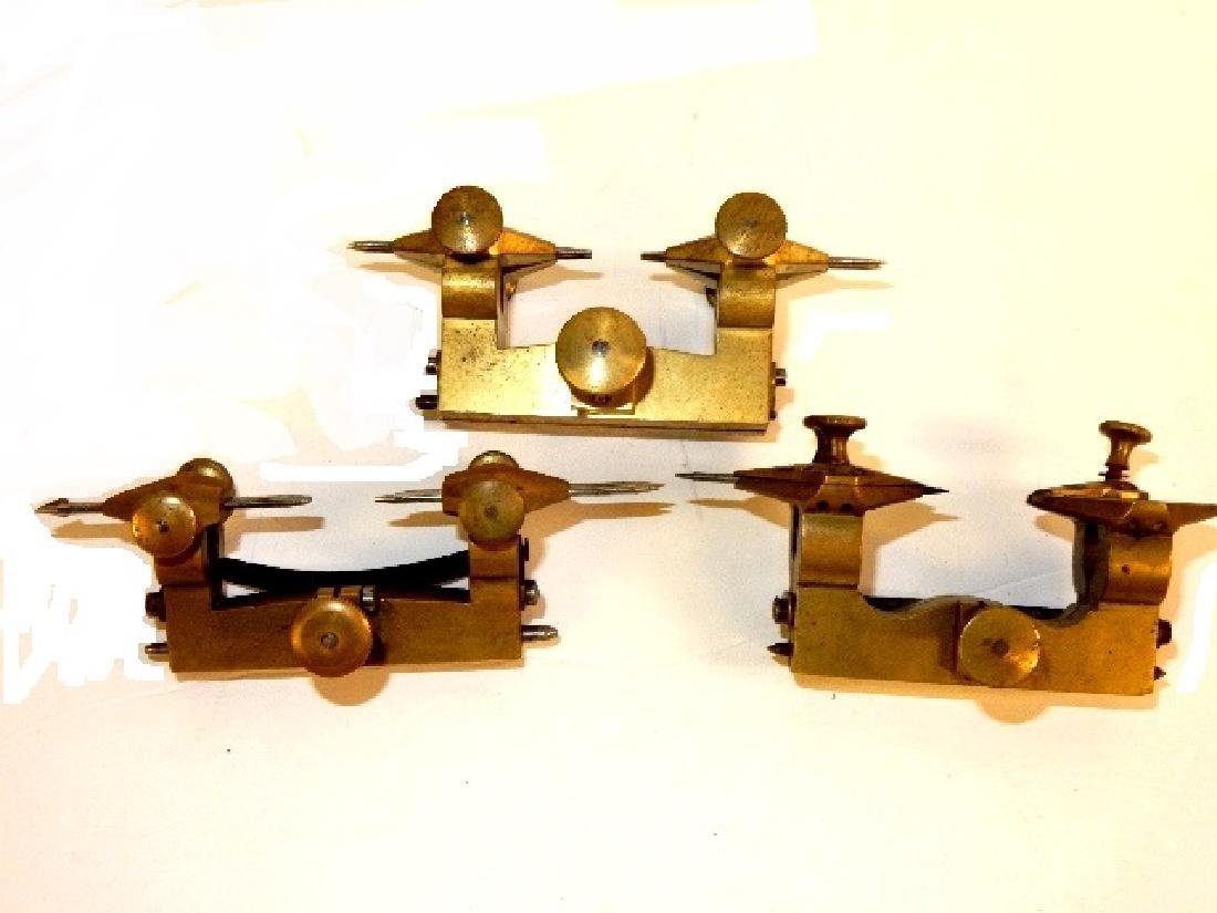 Four Watchmaker Brass Depthing Jewelry Repair Tools - 4