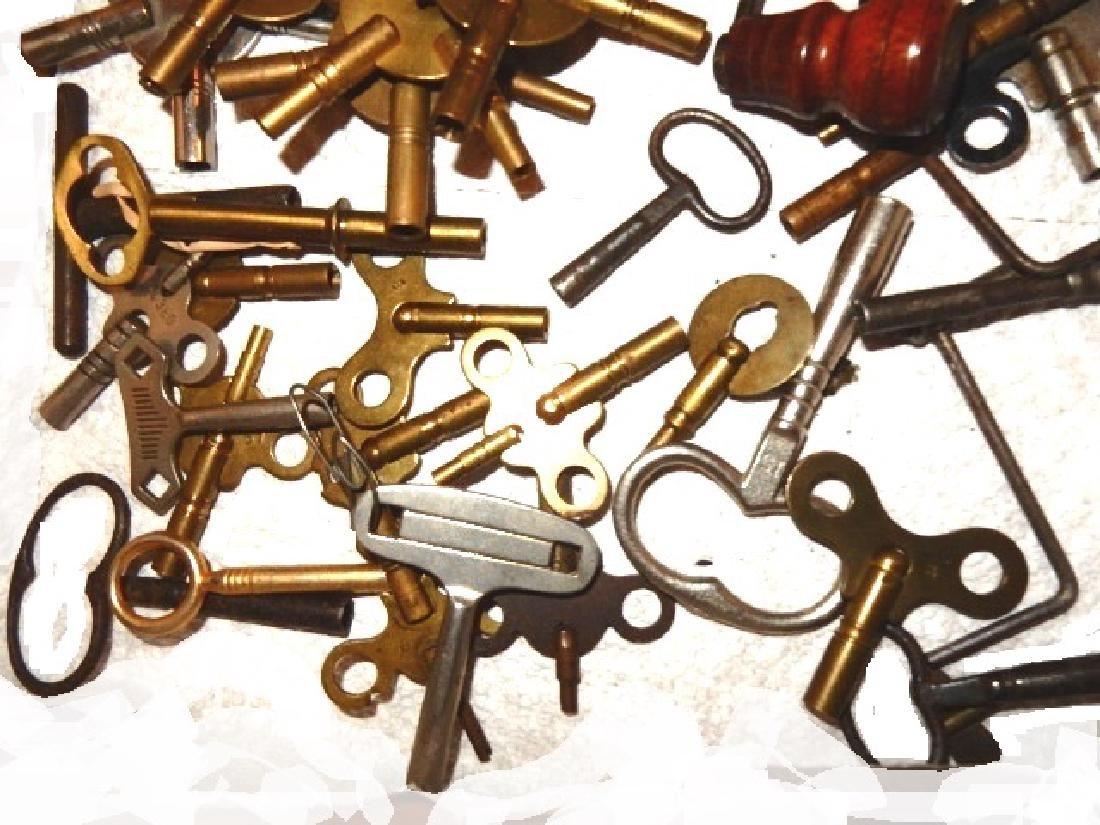 50+ Assorted Clock Keys - 3