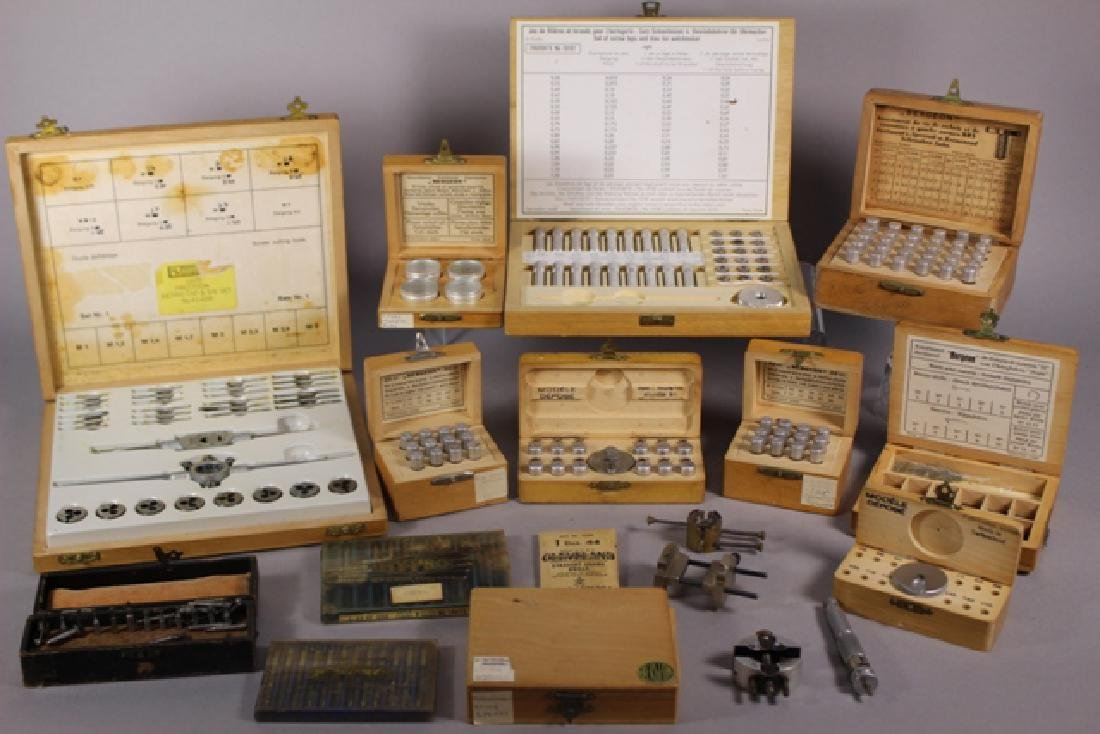 Collection of Assorted Watch Maker Tools & Parts