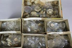 Lot of Various Pocket and Wrist Watch Crystal