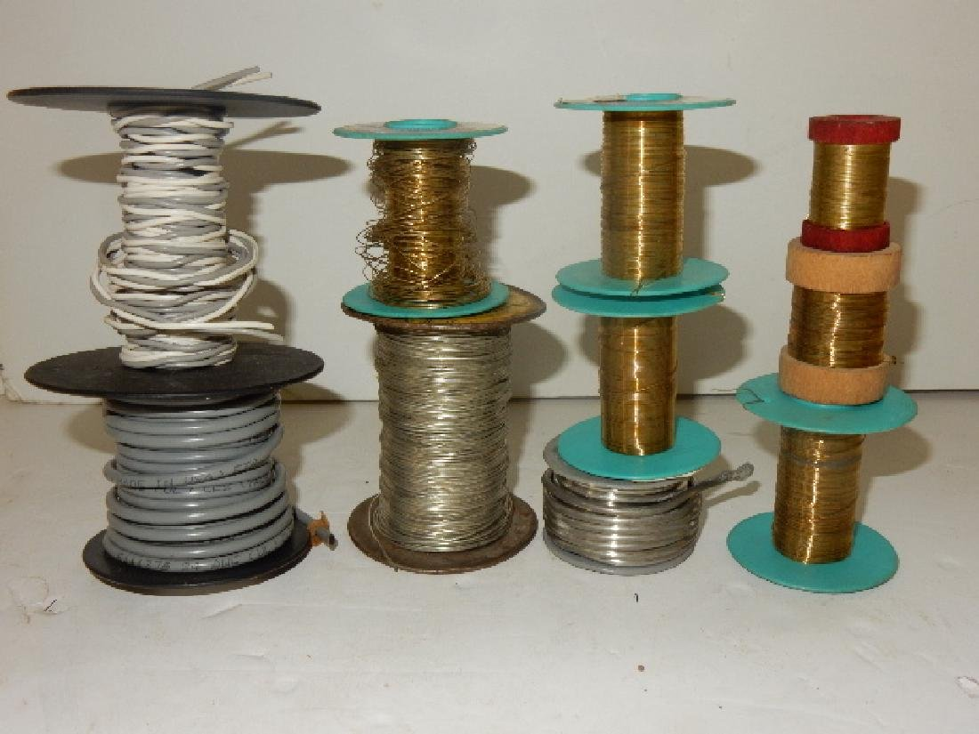 Large Selection of Assorted Wire and Sodder Material - 3
