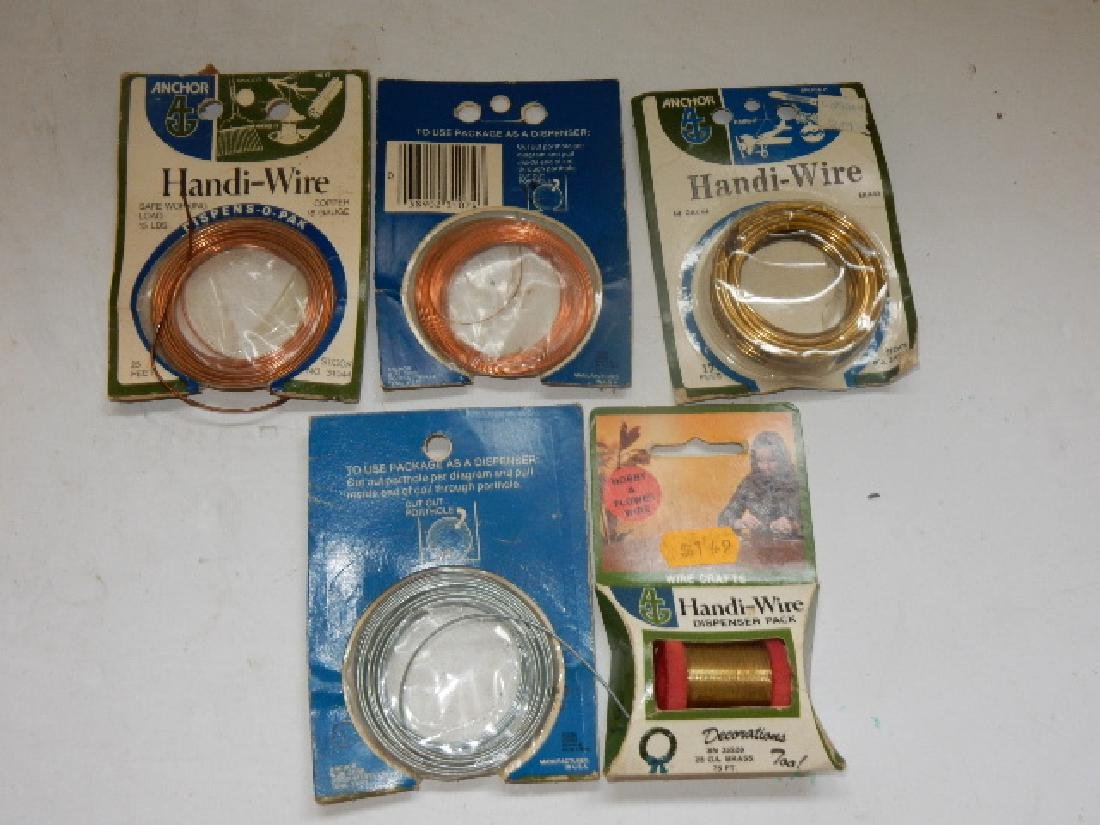 Large Selection of Assorted Wire and Sodder Material - 4