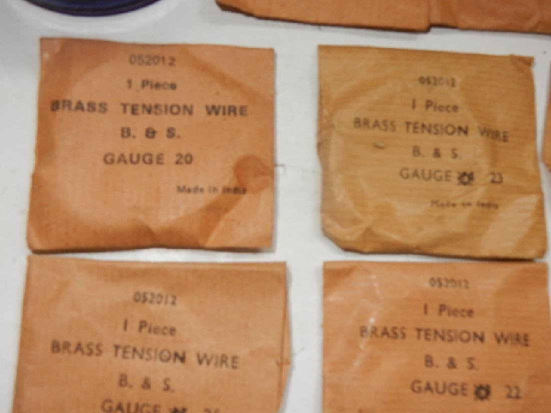 Large Selection of Assorted Wire and Sodder Material - 6
