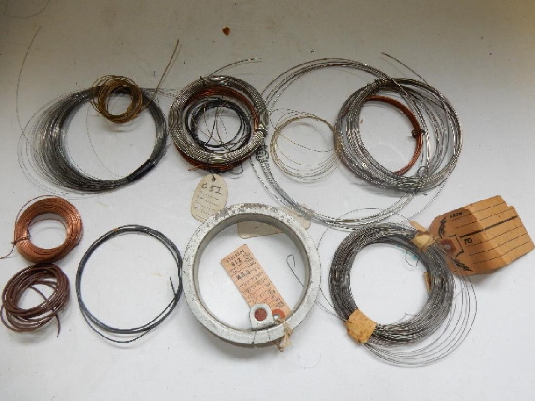 Large Selection of Assorted Wire and Sodder Material - 9