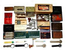 Various Watch and Clock Repair Tools  Instruments