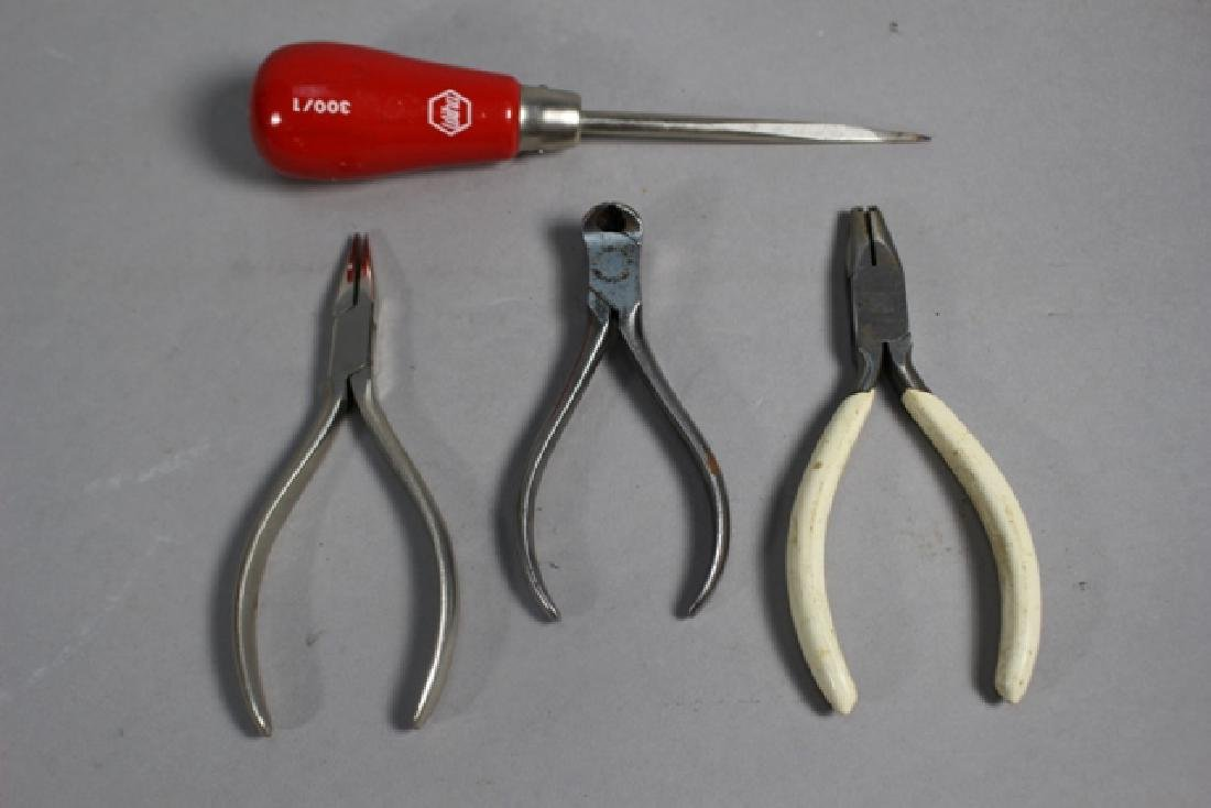 22 Piece Group, Pliers, Oilers, Files & More - 4