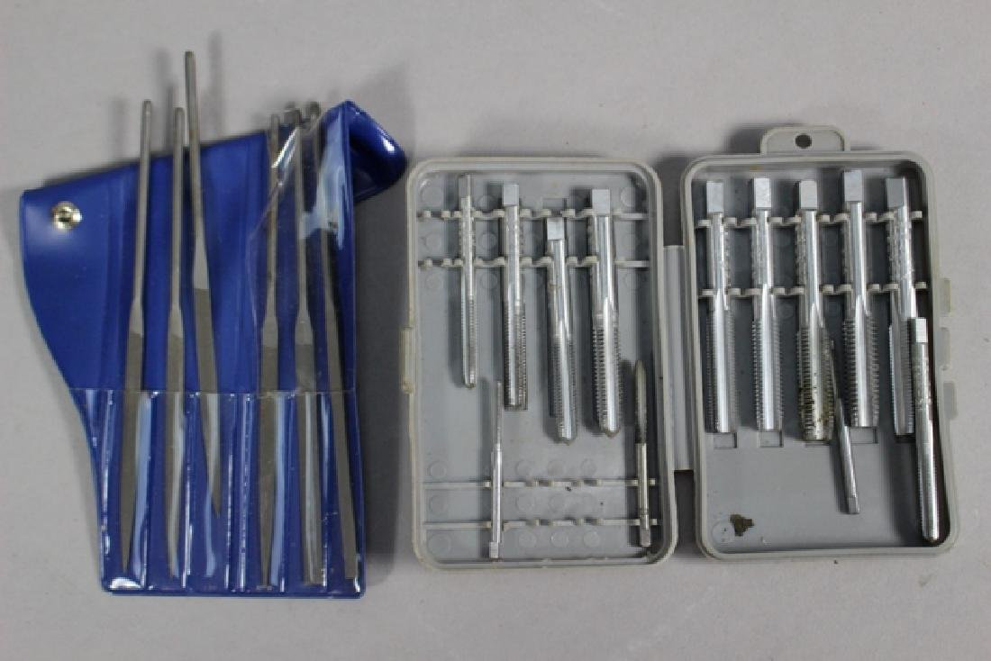 22 Piece Group, Pliers, Oilers, Files & More - 8