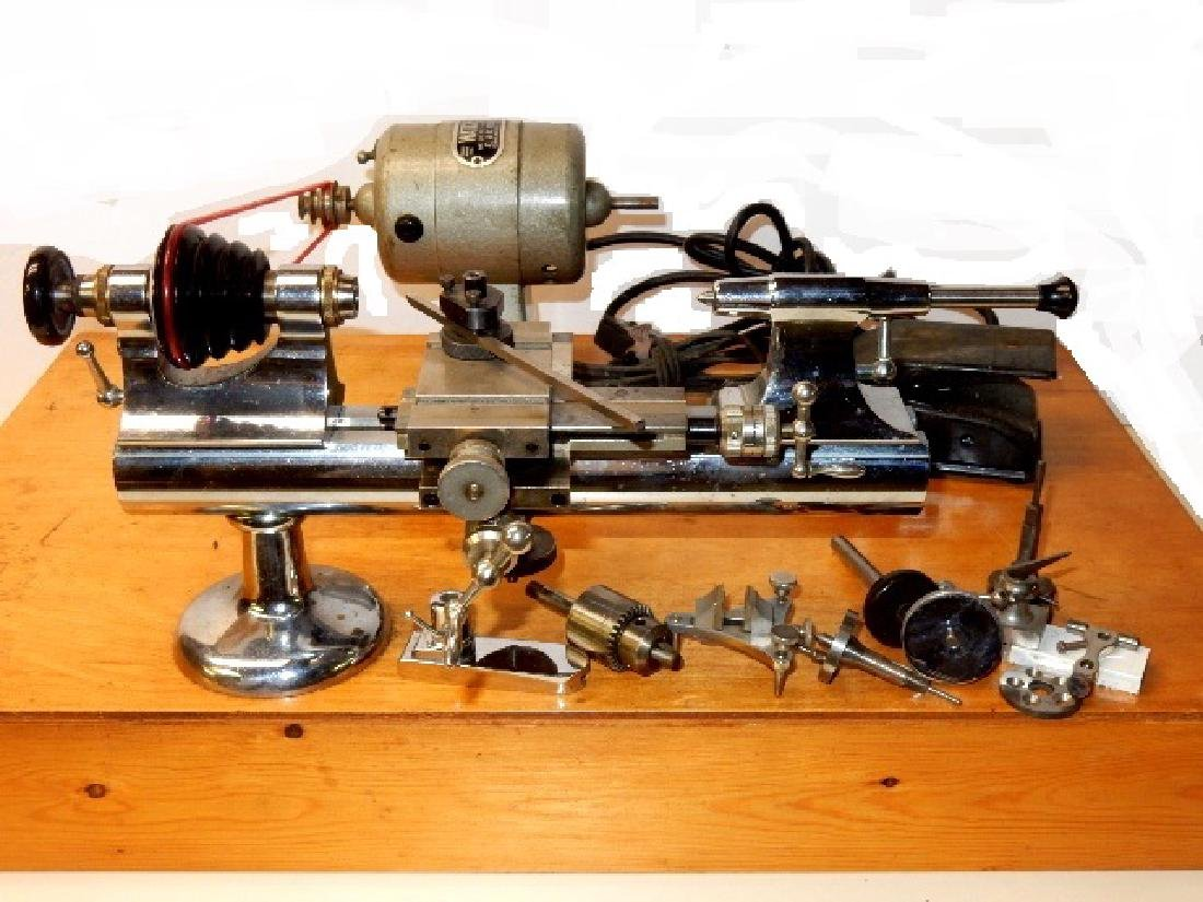 Watch-Craft Jewelers Lathe C & E Marshall