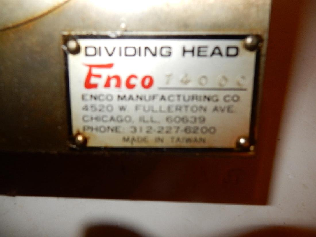 ENCO Dividing Head Model No. 74000 - 6