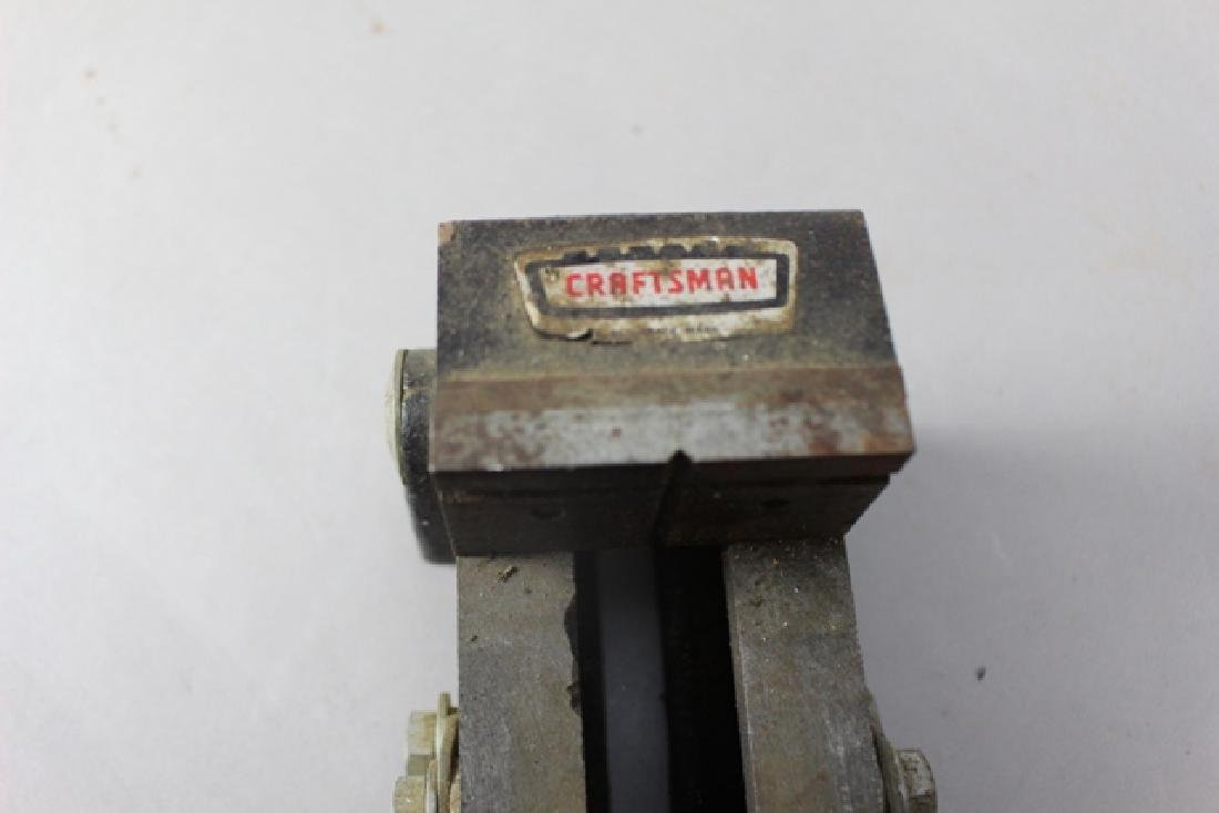 Three Vintage Machinist Drill Press Vises - 5