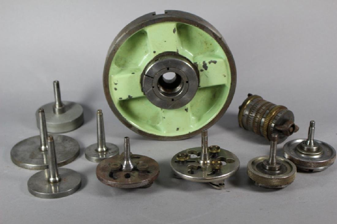 Assorted Machining Lathes, Chucks & Tools