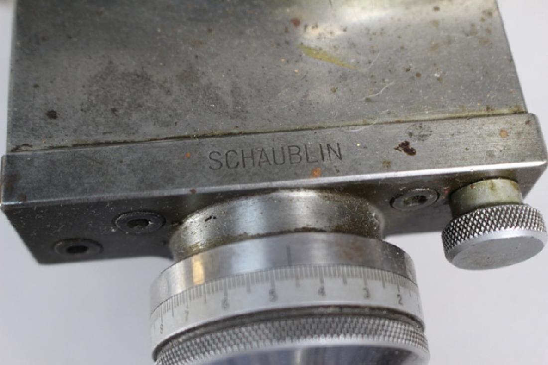 Schaublin Machining Watchmaker's Lathe Tools - 6