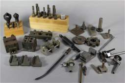 Collection of Machining Tools and Parts