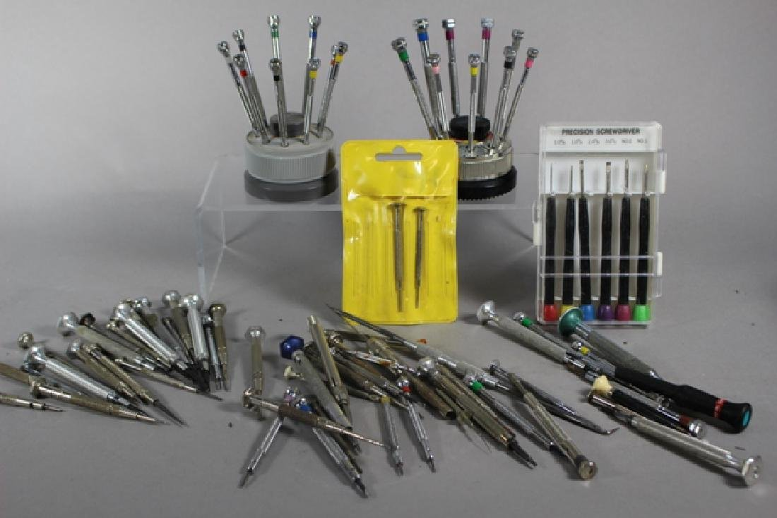 45 Total Pieces Of Precision Screwdrivers