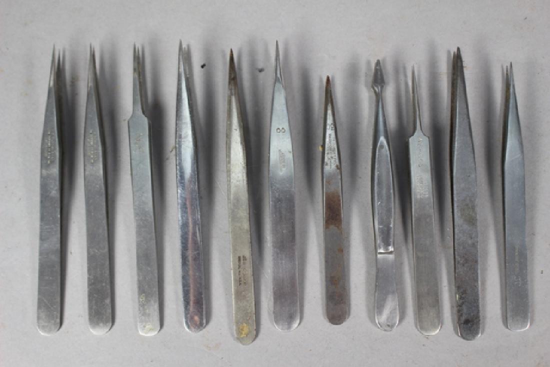 24 Precision Watchmaker's Tweezers
