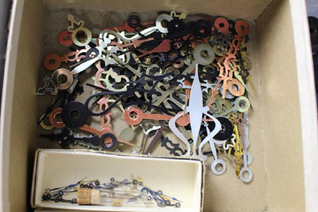 100's Of Various Style Vintage Clock Hands - 3