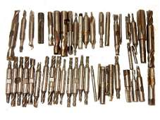 46 Pieces of Watchmaker's Drill Bits