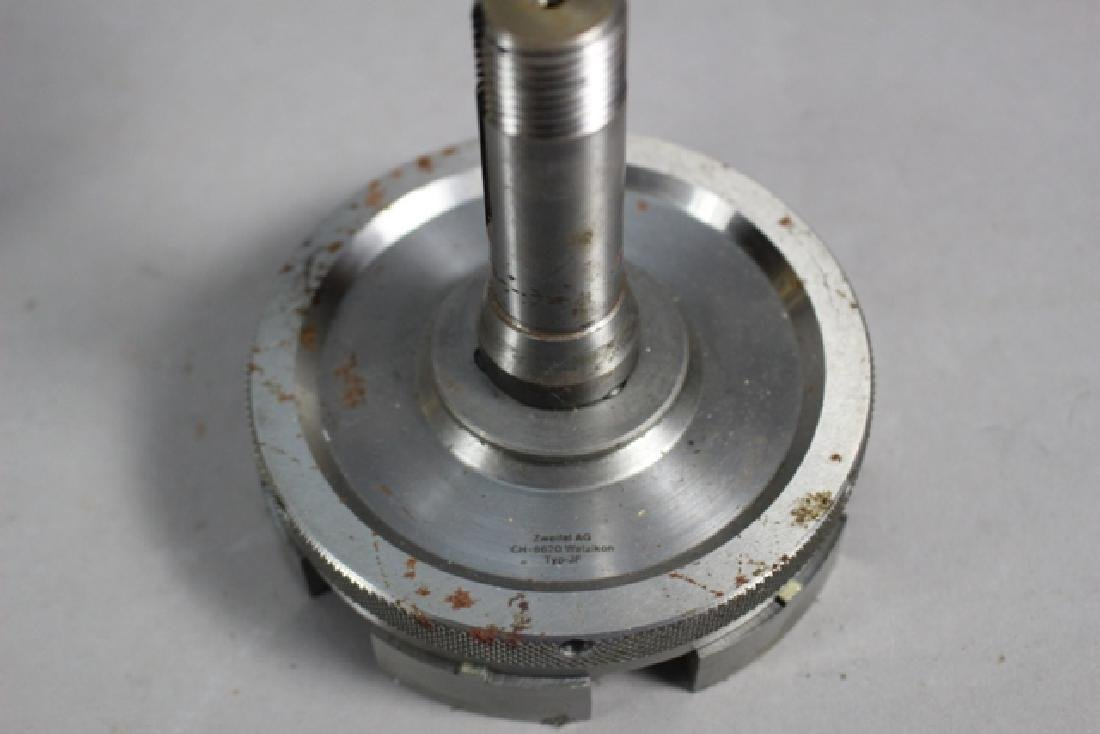 Collection of Lathe Chucks and Division Plates - 7