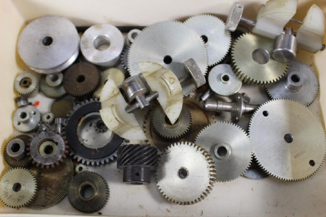 Collection of Clock Gears and Pendulum Pieces - 7