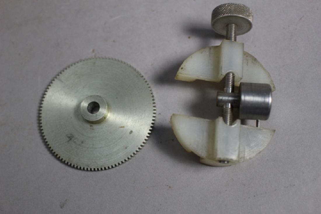 Collection of Clock Gears and Pendulum Pieces - 8