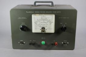 Heathkit Variable Power Supply