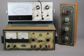 Heathkit Power Supply, Decade Condenser and Voltmeter