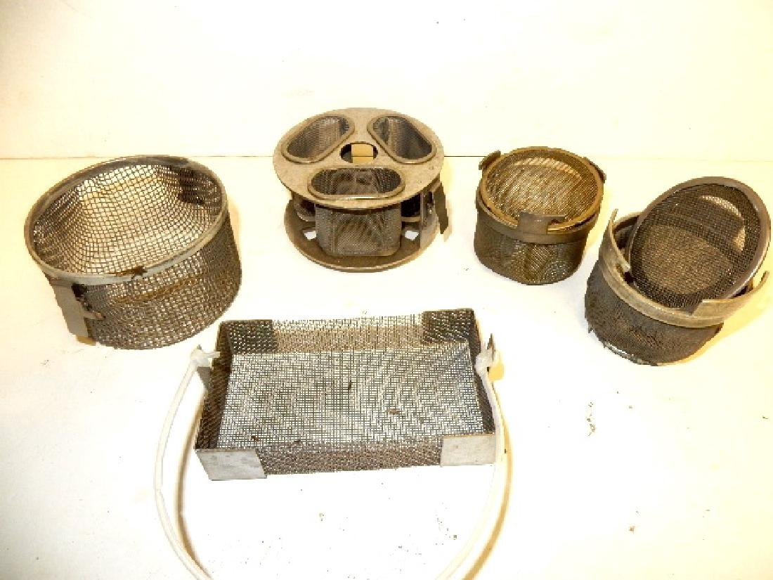 Lot of Cleaning and Screening Pans & Trays - 3