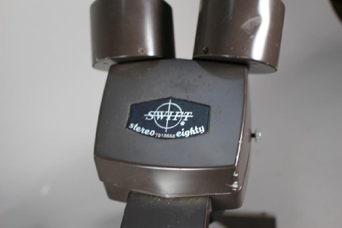 Swift Stereo 80 Microscope and Bulova Accutron Micro - 4
