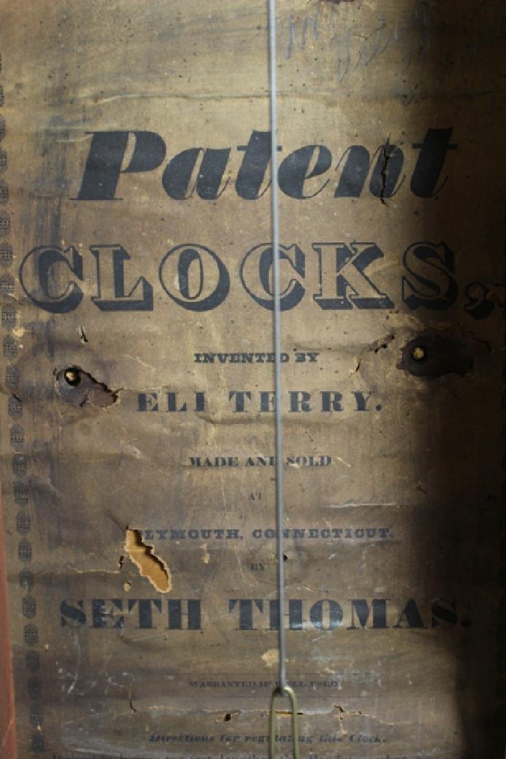 Eli Terry Shelf Clock - 5