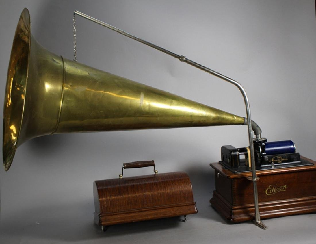 Edison Standard Phonograph Combination Type Model E - 10