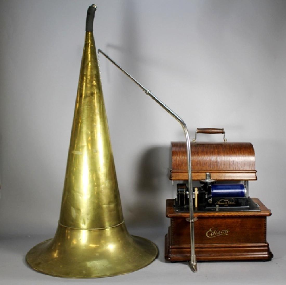 Edison Standard Phonograph Combination Type Model E